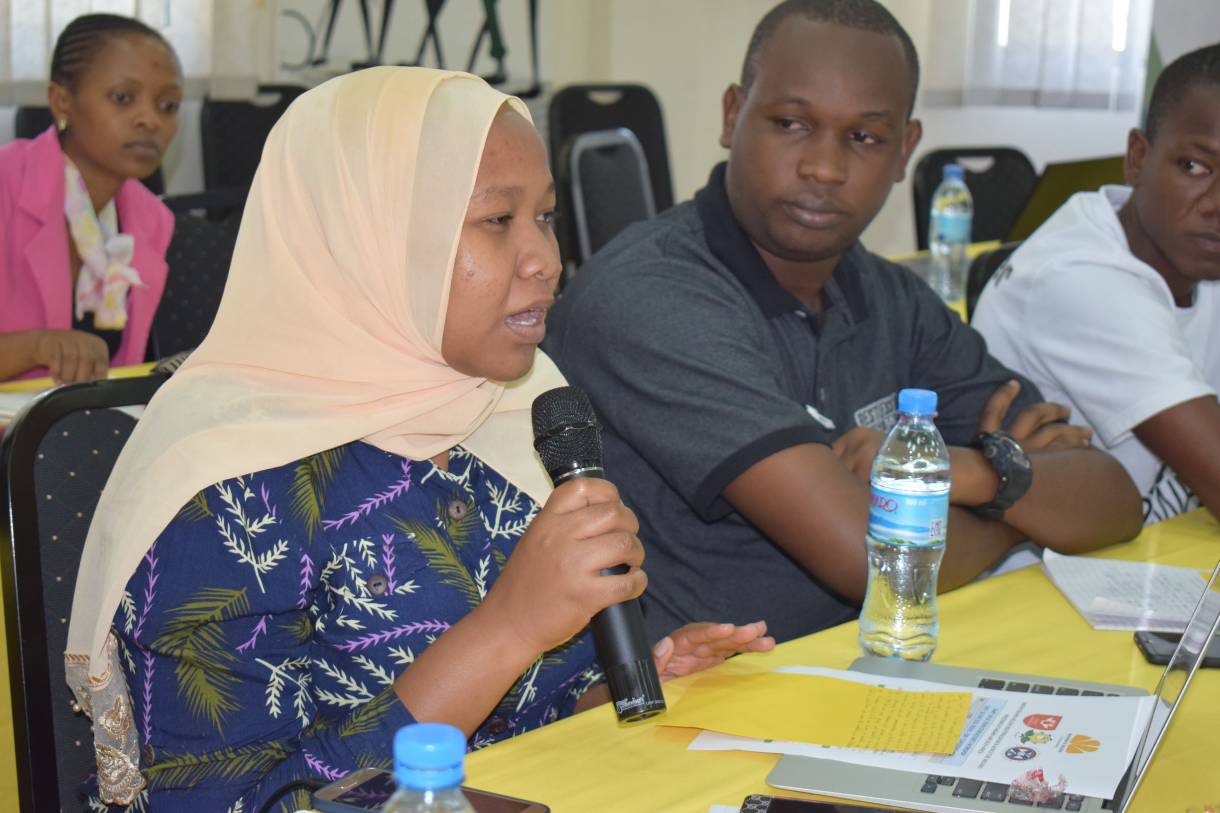 Stakeholder discussion during the Dairy value chain workshop on the 18th June