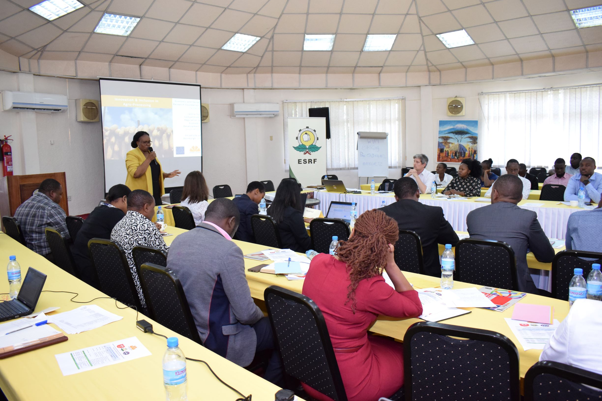 Professor Fortunata Makene introduces Day 2 of the stakeholder workshops on June 19th, 2019